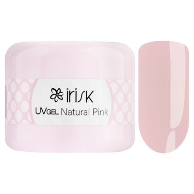 ГЕЛЬ IRISK ABC LIMITED COLLECTION, 50МЛ (02 NATURAL PINK )