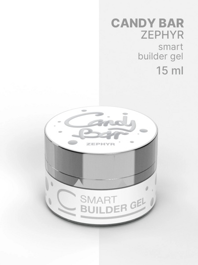 Гель COSMO Gel Builder CANDY BAR SMART Zephyr 15 мл- фото